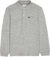 Lacoste Heathered cotton polo top 4-16 yeras