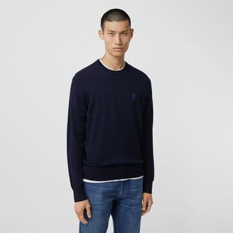 Burberry Monogram Motif Merino Wool Sweater