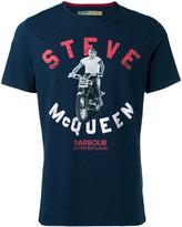 Barbour Steve McQueen motorbike T-shirt - men - Cotton - L