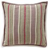 Ralph Lauren Notting Hill Northward Striped Linen Square Feather Pillow