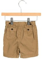 Burberry Boys' Khaki Logo-Accented Shorts