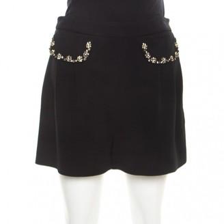 Miu Miu Black Shorts for Women