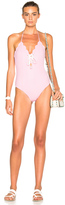 Marysia Swim FWRD Exclusive Broadway Lace Up Swimsuit