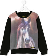 Finger In The Nose horse print sweatshirt