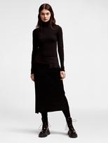 DKNY Pure Satin Twill Skirt
