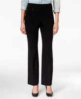 JM Collection Pull-On Boot Cut Pants, Only at Macy's