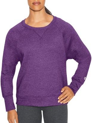Champion Women's Fleece Boyfriend Crew Sweatshirt Sweater
