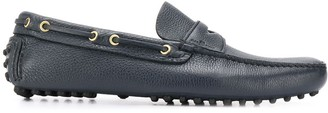 Car Shoe eyelet-detail Drive loafers