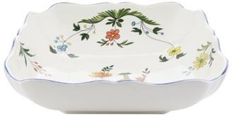 Gien Oiseaux De Paradis Square Fruit Bowl
