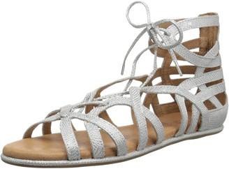 Gentle Souls by Kenneth Cole Women's Break My Heart Gladiator Lace-up Sandal Sandal