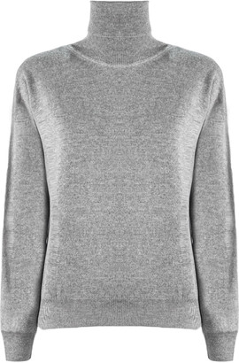 Maison Margiela Grey Wool-cashmere Blend Jumper