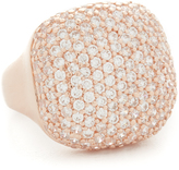 Bronzallure Shiny Squared CZ Ring