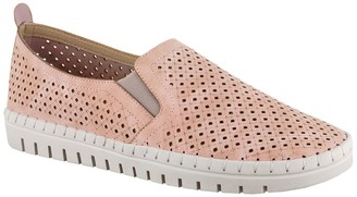 Easy Street Shoes Fresh Perforated Slip-On Sandal - Multiple Widths Available