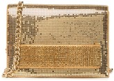 Whiting & Davis Mesh Crystal Crossbody Clutch