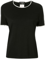 Chanel Pre Owned 1996 round neck T-shirt