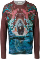 Etro graphic print jumper - men - Cashmere/Wool - S