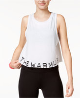 Jessica Simpson The Warm Up Juniors' Graphic Crop Tank Top