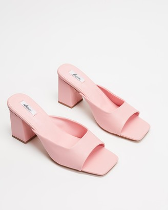 Dazie - Women's Pink Open Toe Heels - Francis Heels - Size 6 at The Iconic