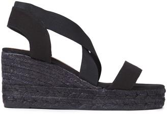 Castaner Canvas Wedge Espadrille Sandals