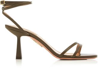 Aquazzura Isabel Leather Sandals