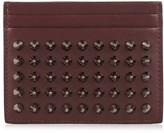 Christian Louboutin Kios Simple spike leather cardholder