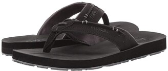 Flojos Trio (Black) Men's Sandals