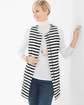 Chico's Graphic Stripe Vest