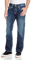 True Religion Men's Ricky Relaxed Fit Straight Leg Jean In