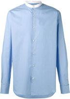 Stella McCartney granddad collar poplin shirt