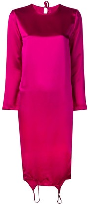 Marques Almeida Fuchsia Shift Dress