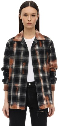 Represent Check Cotton Flannel Shirt