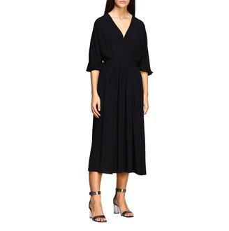 N°21 N° 21 N deg; 21 Long Dress In Crecirc;pe De Chine