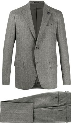 Lardini Single-Breasted Two-Piece Suit