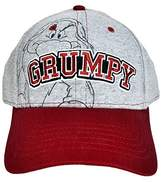 Disney Men's Hat Grumpy Baseball Cap Grumpier (Grey)
