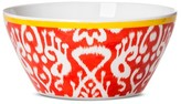 Mudhut Ikat 6in Melamine Cereal Bowl - Yellow