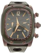 Glam Rock Gulfstream Chronograph 44mm Black Dial Watch