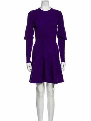 Alexander McQueen 2013 Mini Dress w/ Tags Wool