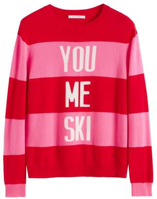 Chinti and Parker You Me Ski Cashmere Intarsia Sweater