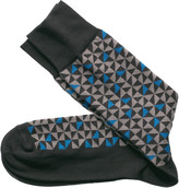Johnston & Murphy Rotating Triangle Socks