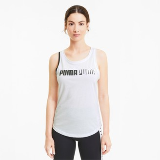 Puma Train Women's Cross Back Logo Tank
