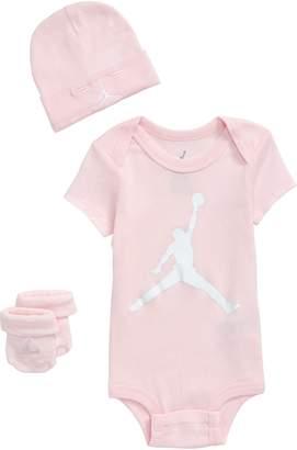 Nike Jumpman Logo Bodysuit, Hat & Socks
