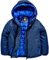 Very Double Hood Padded Coat
