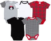 Baby Gear 5-pk. Grow-With-Me Bodysuits - Baby Girl