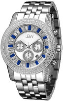 JBW Krypton Mens 1/3 CT. T.W. Diamond Stainless Steel Watch JB-6219-B