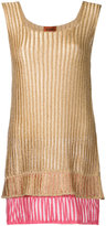 Missoni knitted mini dress - women - Polyester/Cupro - 38