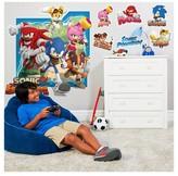 BuySeasons Sonic Boom Giant Wall Decal