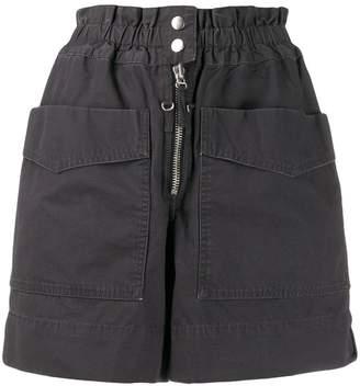Etoile Isabel Marant high rise cargo shorts