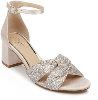 Badgley Mischka Nicollete Embellished Sandal