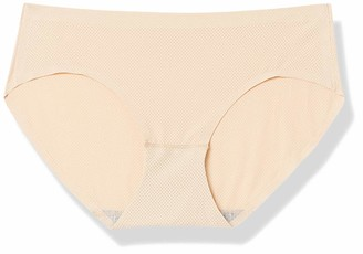 Ouxbm Womens Underwear Hipster Panties No Show Panty Low-Rise (Pack of 5 Large)