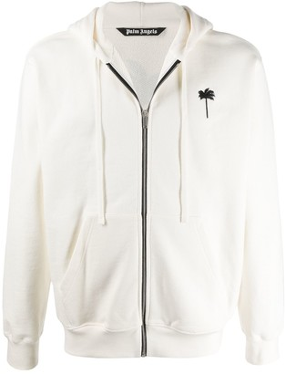 Palm Angels Embroidered Hoodie